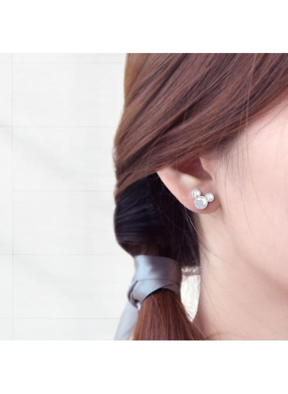 Disney Mickey Stud Swarovski Earrings