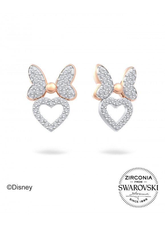 Disney Minnie Ribbon Swarovski Earrings