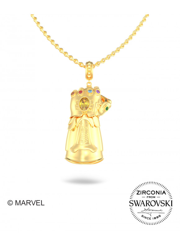 Marvel's Avengers Infinity Gauntlet Swarovski Pendant