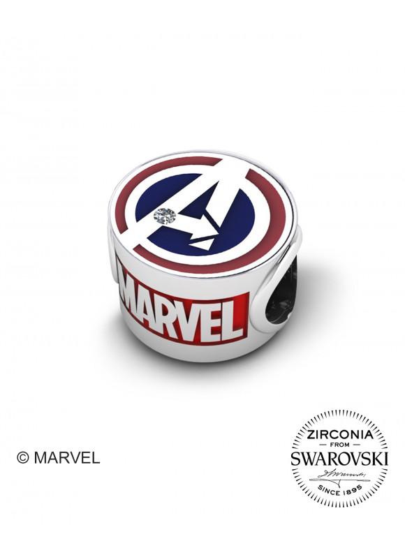 Marvel's Avengers Captain America Swarovski Charm