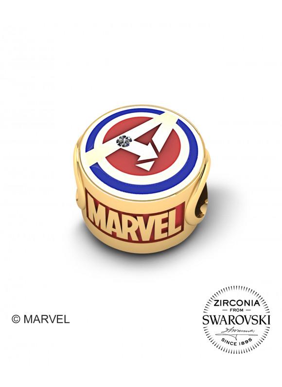 Marvel's Avengers Captain Marvel Swarovski Charm