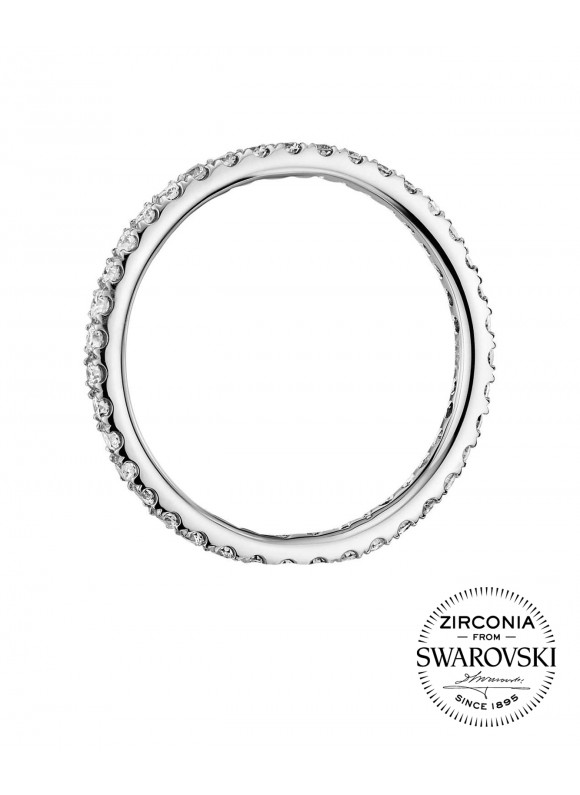 AUROSES Scallop Eternity Ring Sterling Silver