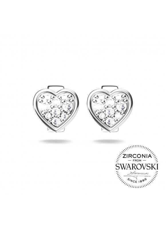 Auroses True Love Swarovski Earrings