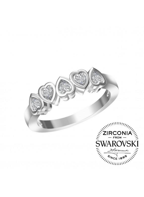 Auroses Infinite Love Swarovski Ring