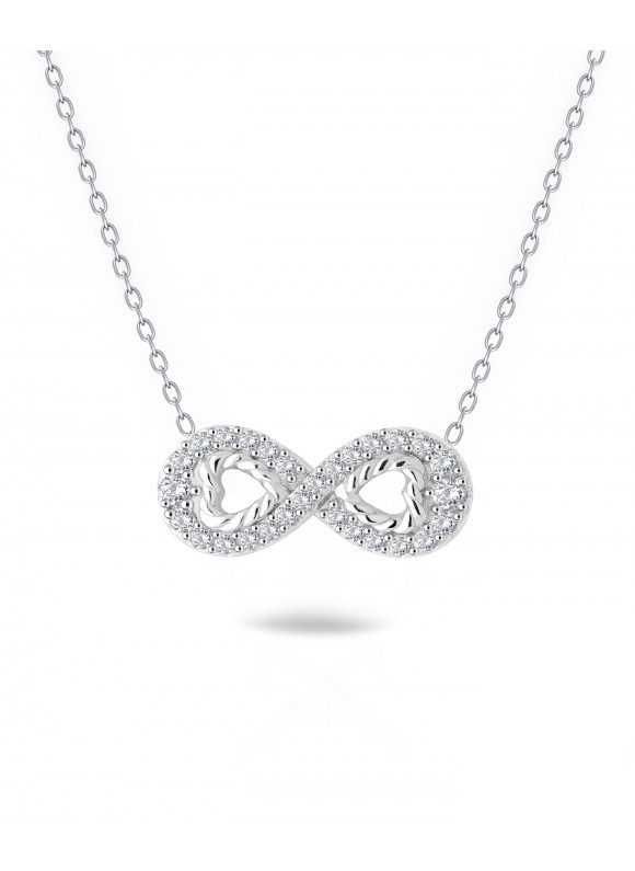 Auroses Infinity Love  Necklace