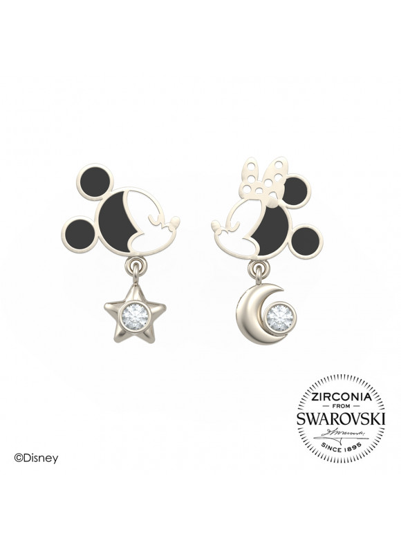 Disney Mickey Minnie Starry Night Stud Earring
