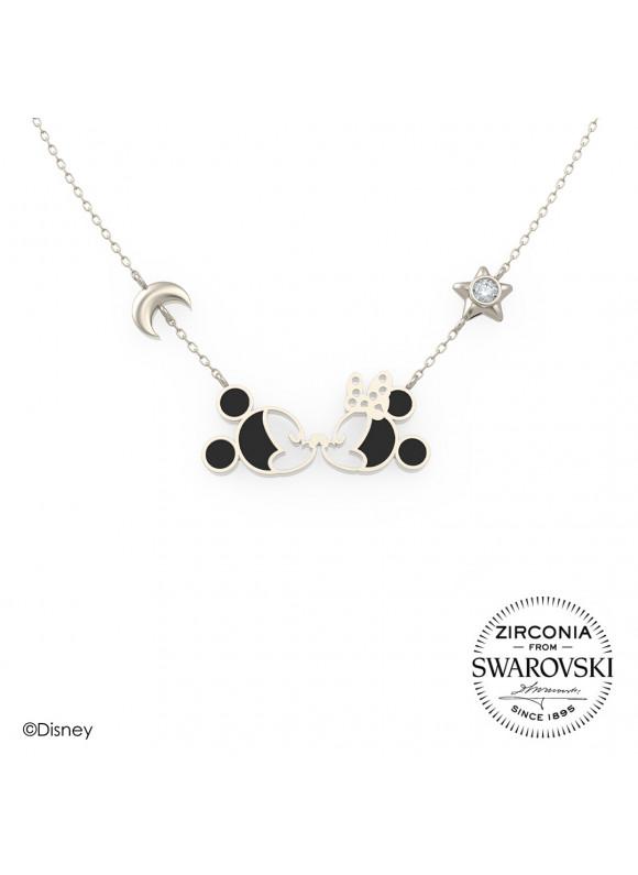 Disney Mickey Minnie Starry Night Necklace
