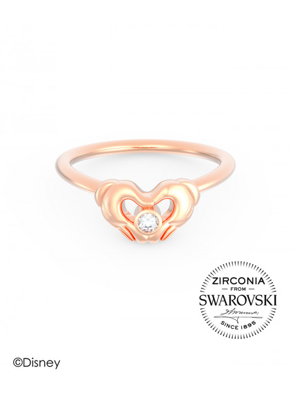 Disney Mickey Gloves Swarovski Ring