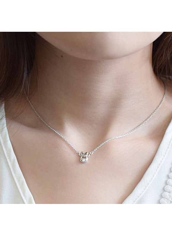 Disney Minnie Starry Night Swarovski Necklace