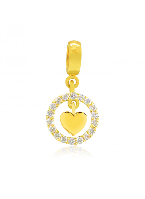 LOVE & ROMANCE Aurora 18k Yellow Gold Charm