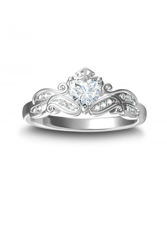 AUROSES Love Tiara Ring