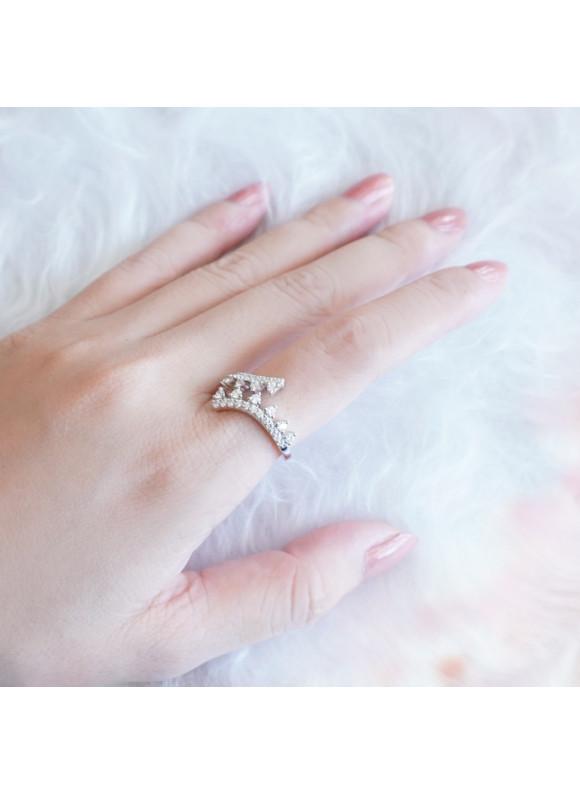 Auroses Blooming Twist  Ring